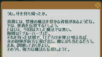 2012・10・07 マリスのクエスト 3 納品コメント ニーズヘッグの牙(奥義:とどろけ水弾.png