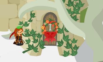 2012・12・16 今年のドア飾り クリスマスリース.png